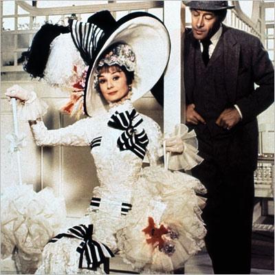 Audrey Hepburn dans le film de 1964