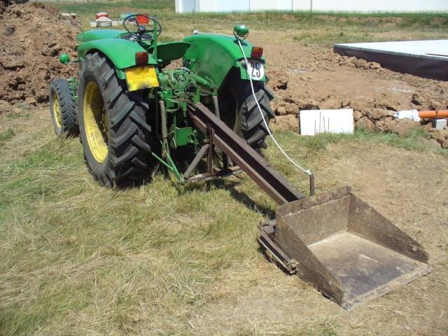 Fabrication fourche arriere tracteur