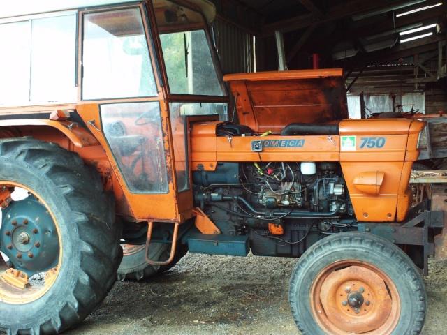 Tracteur someca 750