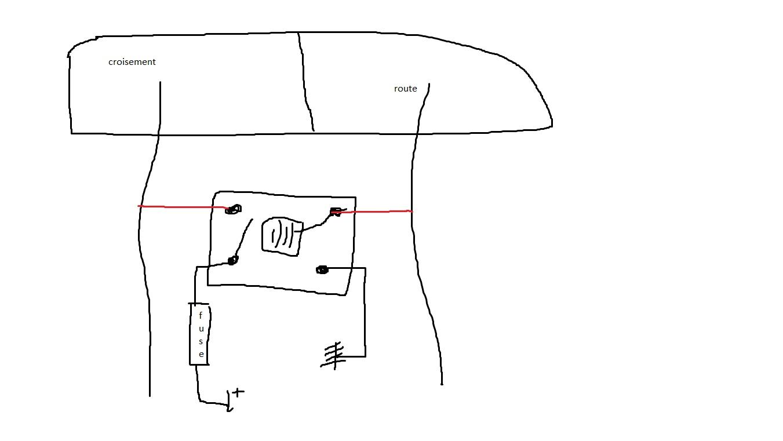 crx vtec  cablage optique