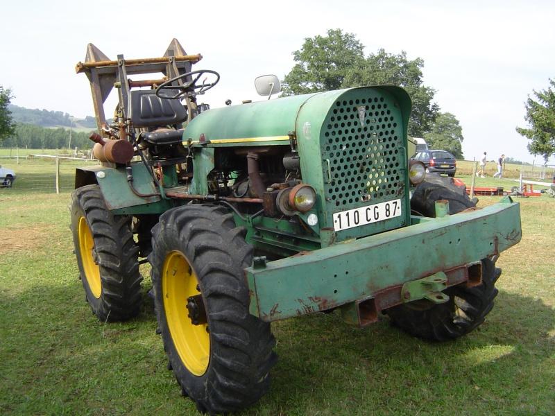 tracteur forestier ancien
