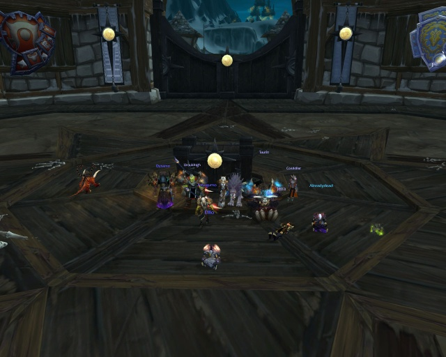 Trial of the crusader 10man cleared 22 2010 for Terrace of the endless spring location