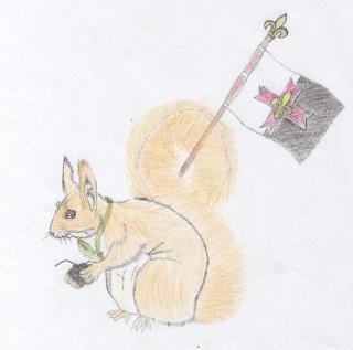 L'écureuil de la toile