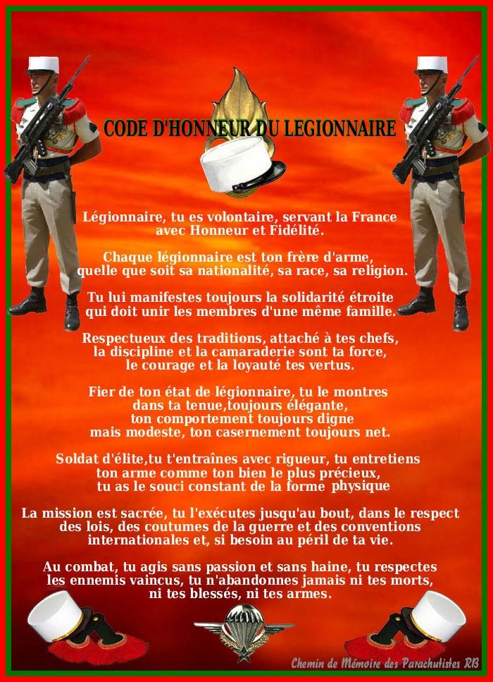 loyauté du légionnaire you tube