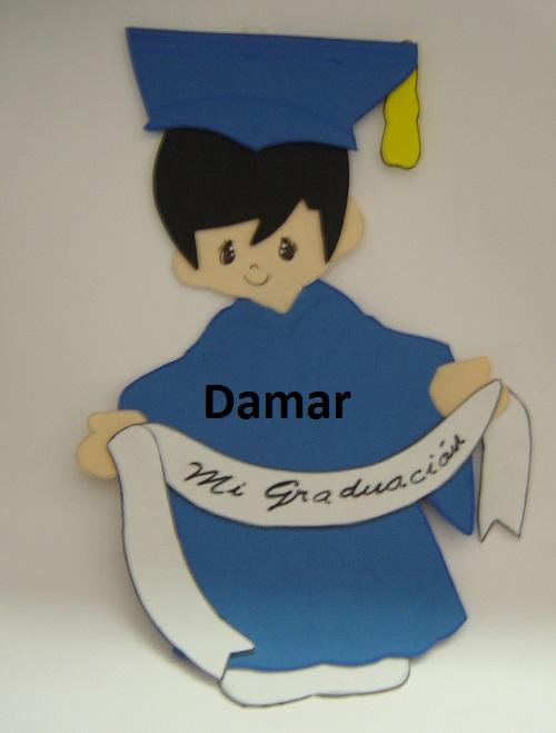 Moldes para hacer graduados en foami - Imagui