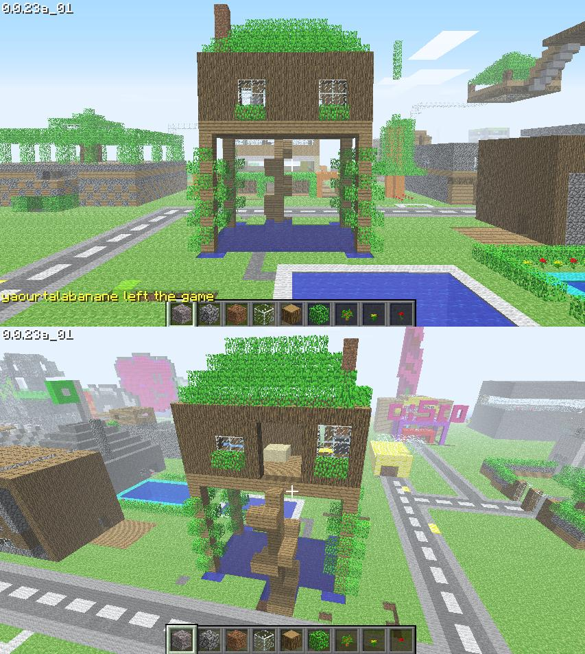 Minecraft le cubisme revisit - Minecraft interieur maison ...