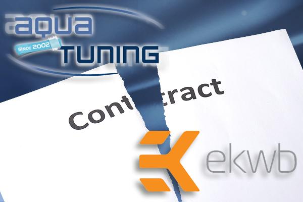 fin de contrat aquatuning EK