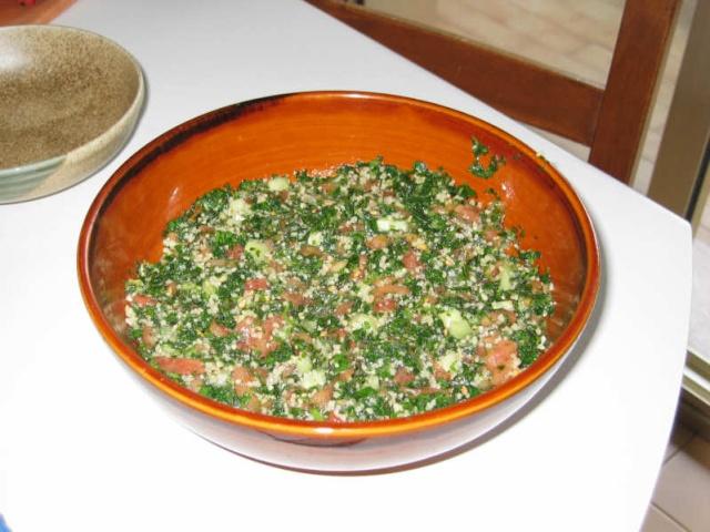 Le taboul libanais - Cuisine libanaise livre ...