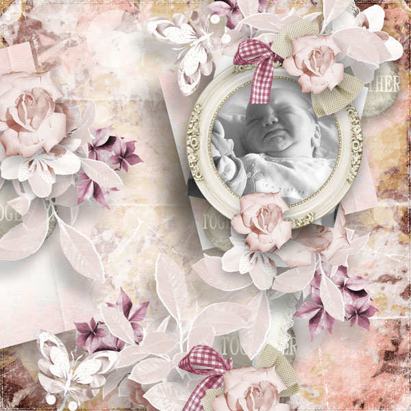 cherry love and roses kit simplette page sarayane