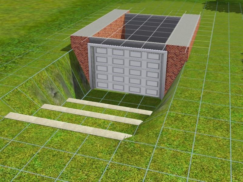 Construire un garage en sous sol - Construire un sous sol ...