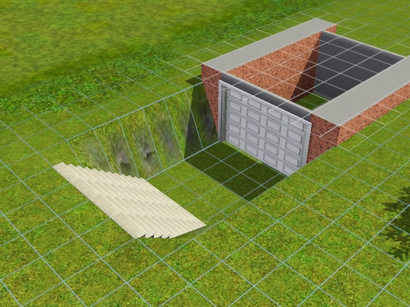 Construire un garage en sous sol for Construire un garage contre une maison