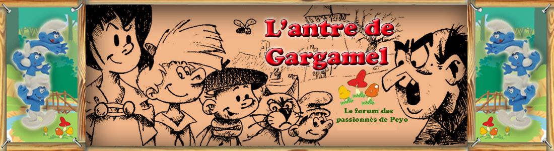 L'antre de gargamel