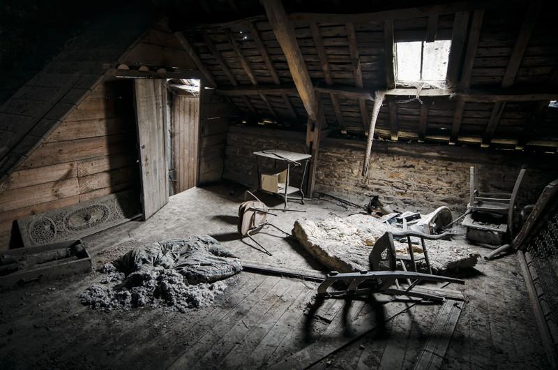 Le vieux grenier for Agrandissement maison grenier