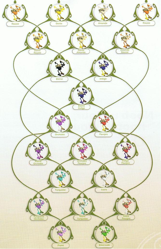 Arbre g n alogique des dragodindes - Idee arbre genealogique original ...