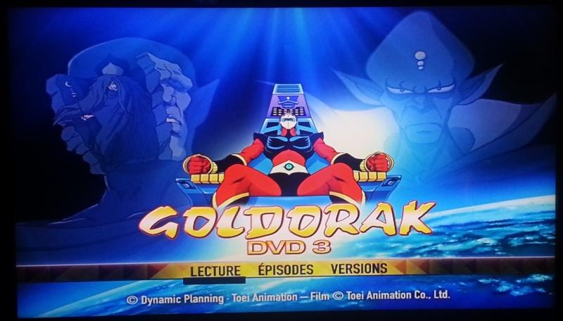 visuel troisième DVD Goldorak