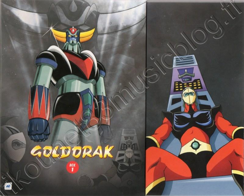 Goldorak Coffret 3 DVD glissé dans sa boite