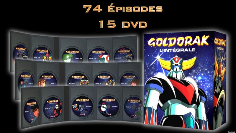intégrale 74 épisodes Goldorak Zone 1 Canada