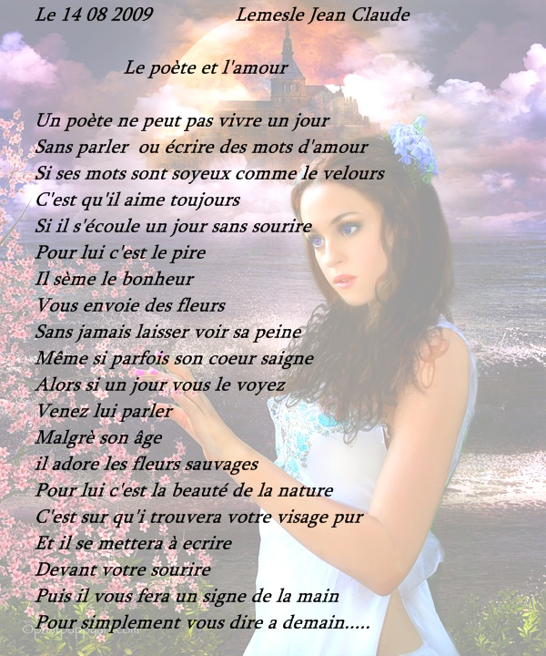 Poeme d'amour rencontre sur internet