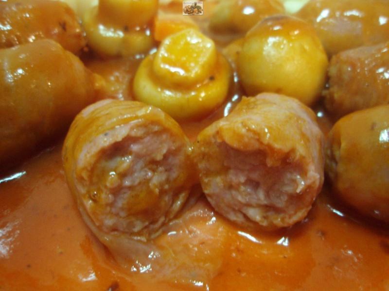 La cocina paso a paso de erdecai salchichas frescas en tomate - Salchichas frescas en salsa ...