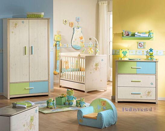 Chambre Enfant Bleu Et Vert. Cheap Chambre Bb Blanc Orange Vert With ...