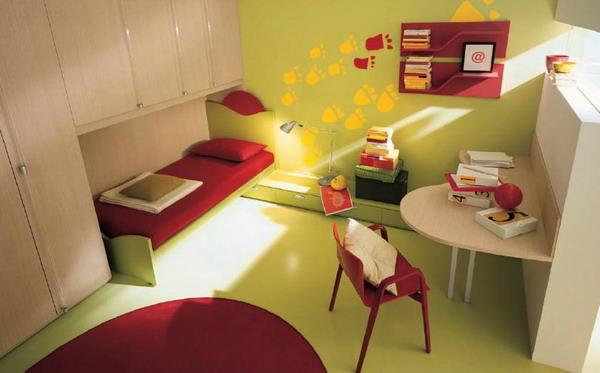 Maison Contemporaine Bois Montpellier : Une chambre à esprit salon )
