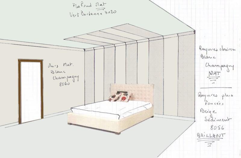 Faire 2 chambres d 39 hotes en 15 jours - Chambre en perspective frontale ...