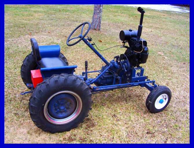 Home Made Tractor Clutch : Check out gary barkyoumb s really cool home made tractor