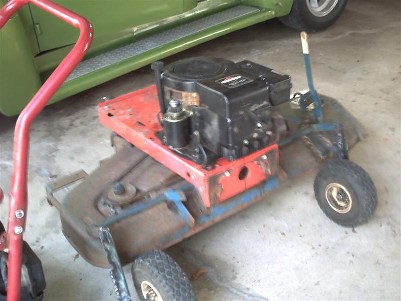 Pull Behind Mowers Car Interior Design