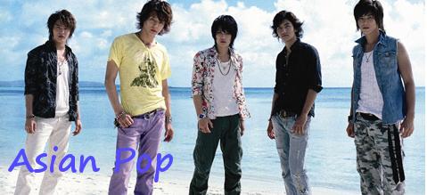 Asian-POP Korean, Japanese, Taiwan