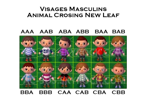 Les coiffures animal crossing new leaf - Animal crossing new leaf salon de coiffure ...