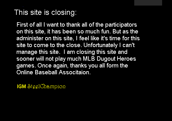Online Baseball Association
