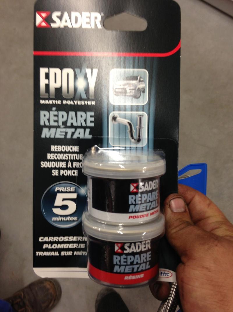 Epoxy repare metal