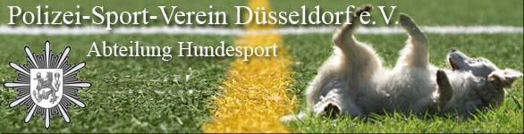 PSV Düsseldorf Abteilung Hundesport