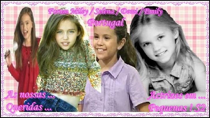 Miley Cyrus / Selena Gomez / Demi Lovato / Emily Osment