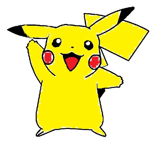 Pikachu my drawing