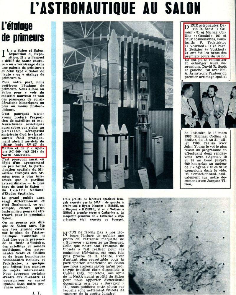 Salon du bourget 1967 page 2 for Porte m salon du bourget
