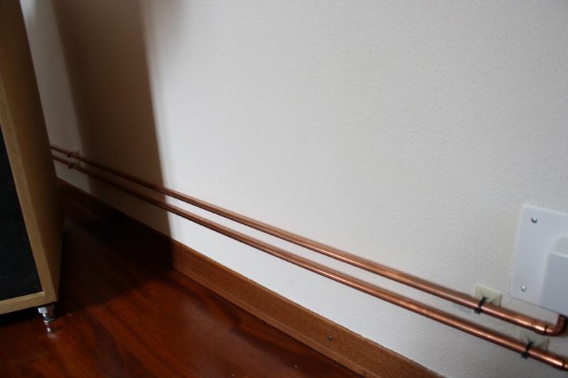 A quanto pare una canalina fatta con tubi in rame nella for Tipi di raccordi per tubi di rame