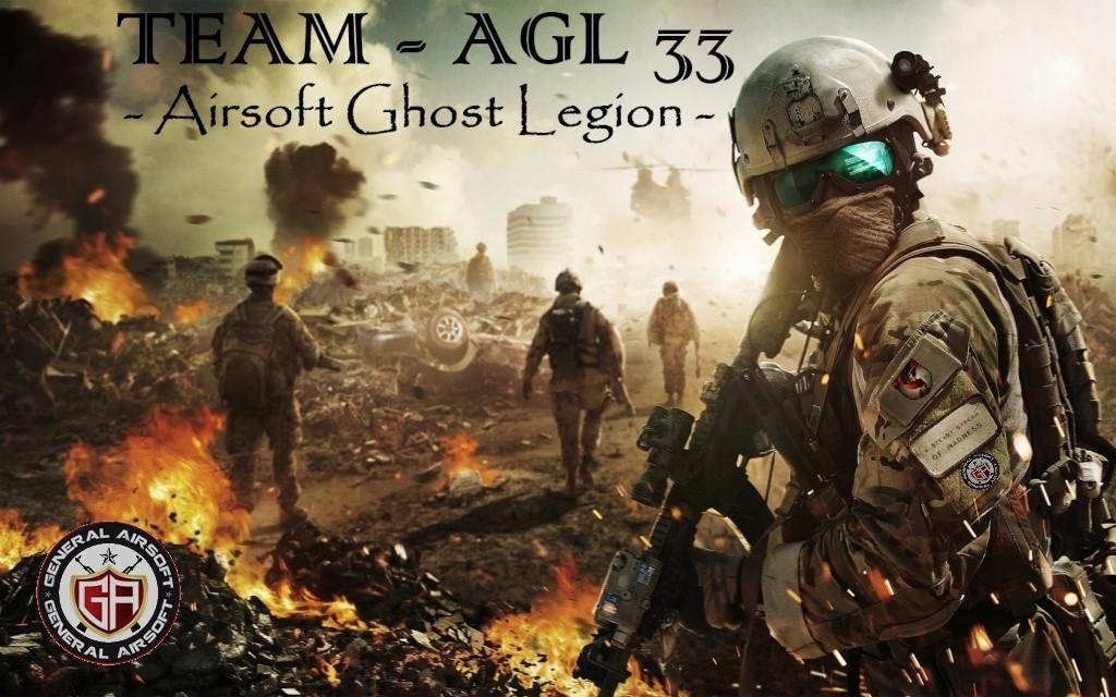 Air-soft Ghost Légion,  l'esprit joueur !