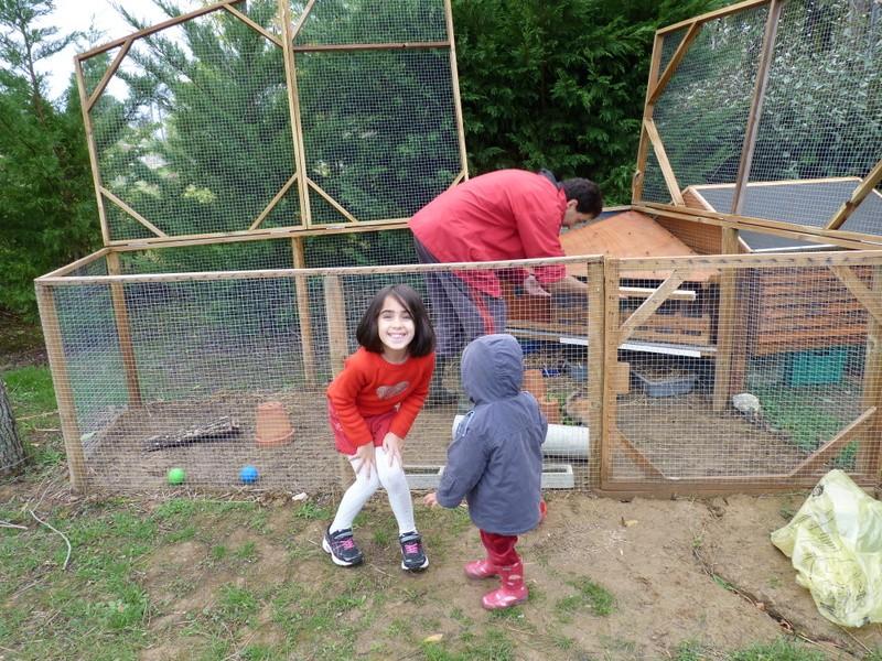 Poulailler basse cour for Abreuvoir lapin fait maison