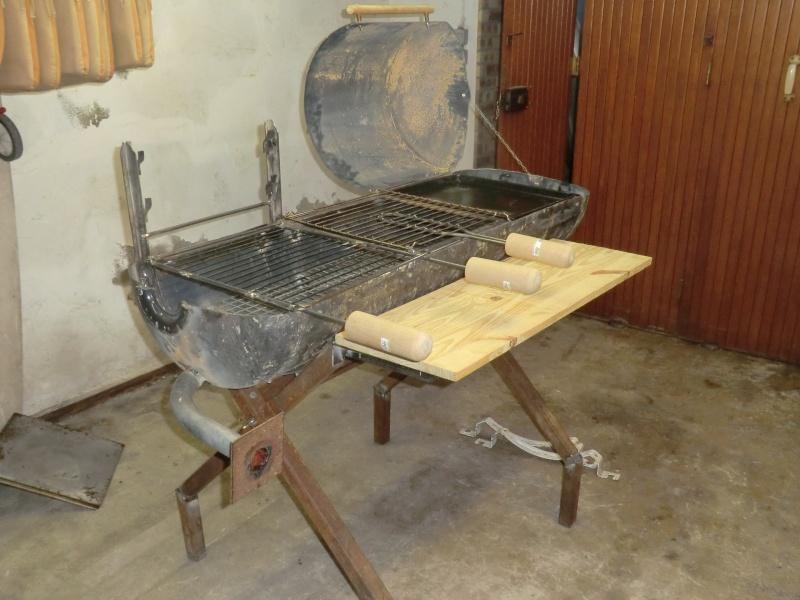 Barbecue asociatif - Comment fabriquer un barbecue avec un tonneau ...