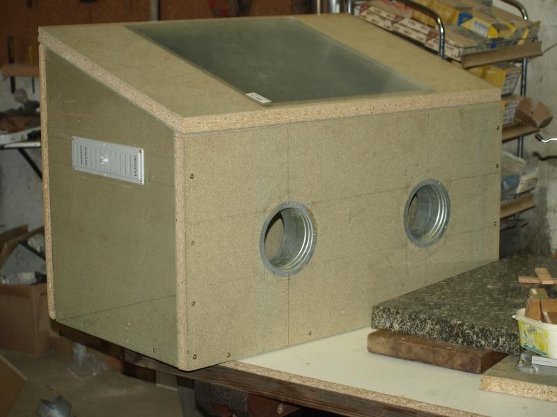fabrication d 39 une nouvelle cabine de sablage. Black Bedroom Furniture Sets. Home Design Ideas