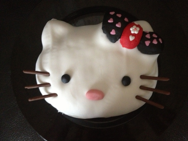 Hello kitty d cor plat sa t te ou en 2d page 11 - Tete hello kitty ...