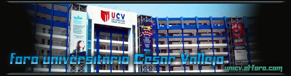 Foros César Vallejo .:UCV:.