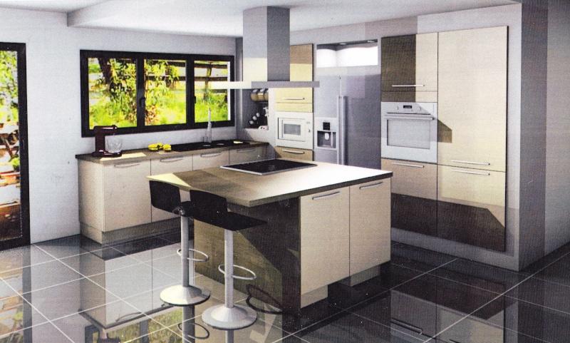 Cuisine ouverte sur salle manger et salon id es d co for Decoration interieur salon cuisine ouverte