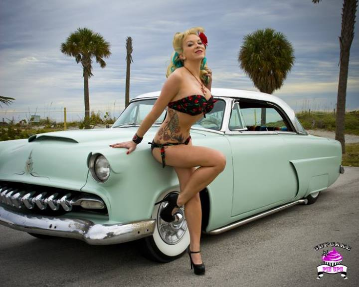 Hot Rod Custom And Classic Car Babes Page