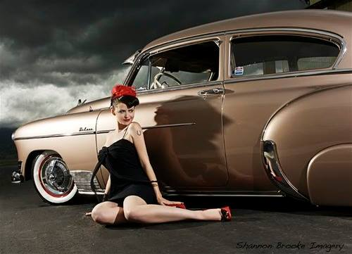 hot rod custom and classic car babes page 2. Black Bedroom Furniture Sets. Home Design Ideas