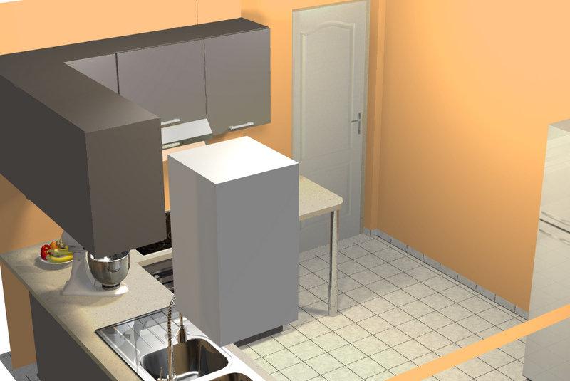 am nagement d 39 une cuisine. Black Bedroom Furniture Sets. Home Design Ideas
