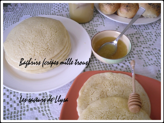 Baghrir crepes traditionnelles
