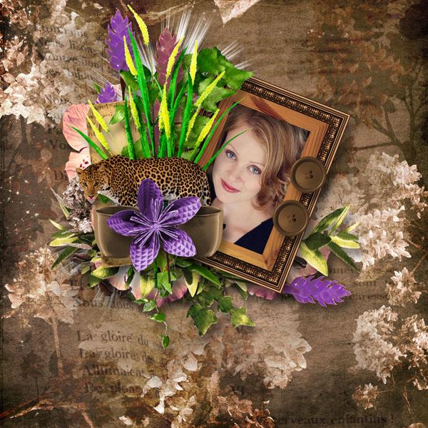 fleurs du mal kit simplette page galadriel