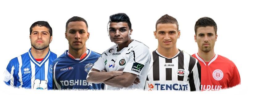 اللاعبين العراقيين المحترفين  |  ياريزاناني عيراقي بروفشنال  |  Iraqi professional players